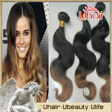 wholesale brazilian ombre hair extensions colored two tone hair weave