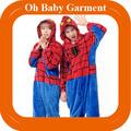 Nueva llegada unisex de halloween traje de hombre araña, adulto disfraz de spiderman al por mayor de china