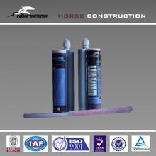 HM epoxy structural anchor glue injection by glue gun