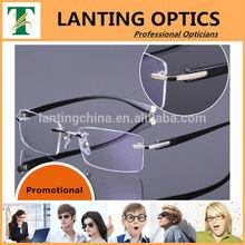2014 new model luxury metal alloy eye frame silhouette frame for men