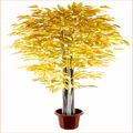 home decoração interior ficus bonsai artificial banyan tree