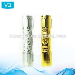 Healthy E Cigarette smoke Flip V3 Mod clone Ecig 1:1 clone 24K gold design