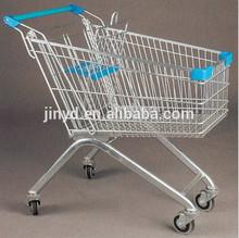 Supermarket shopping trolley shopping cart hand trolley