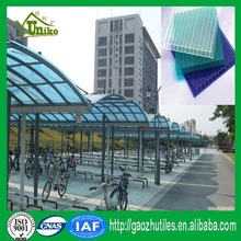 high quality low price excellent light transmitting awnings and canopies polycarbonate sheet