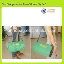 2014 high quality barrel shaped high quality canvas messenger bag