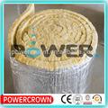 a prueba de agua de aislamiento de papel de aluminio se enfrentan manta de lana mineral para la pared hecha en china