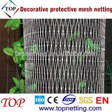 Durable decorative protective mesh netting