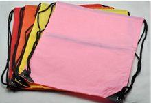 Fashionable antique promotional drawstring shopping bag