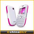 Mini telefone móvel com teclado qwerty/bluetooth/tv analógica/fm para todo o pessoal