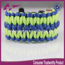 mix colors Unisex Hand Woven Survival Paracord Bracelet Army Green unisex