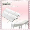 De haute qualité! Draps de lit pas cher/jetables non tissés sanitaires. couch roll drap de lit en chine/draps de lit en vrac