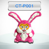 children handheld smart electronic plush interactive kids handheld electronic games with 4AA batteries control