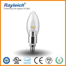 energy saving led tea light candle/brass golden silver led lamps india price/e26 e27 b15 led bulb e17