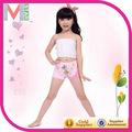 underwear logo máquina de sutiã e calcinha de renda criança underwear
