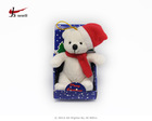 Cute plush Christmas animals stuffed christmas bear toy