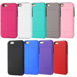 Hot new design silicone stand hard cover for iphone 6/alibaba mobile phone case for iPhone 6 back cover silicone case
