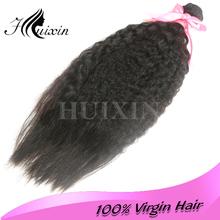 100% unprocessed 18inch straight Brazilian hair,yaki hair braid styles