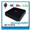 New products! Amlogic S812 quad core tv box Android 4.4 tv box 2gb ram 16gb rom 2.0GHz XBMC 13.2