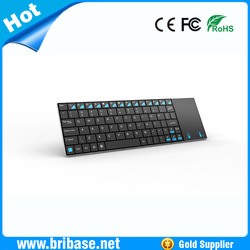 2.4G mini rechargeable wireless flexible keyboard and mouse & Touchpad made in China