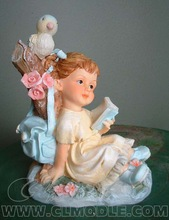 Newly custom made baby figurine/European style resin crafts