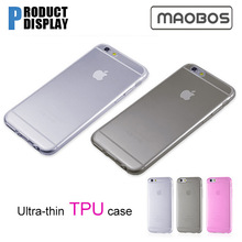 For iphone 6 case clear silicone