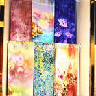 double sided 100% silk scarves wholesale silk pashmina shawl