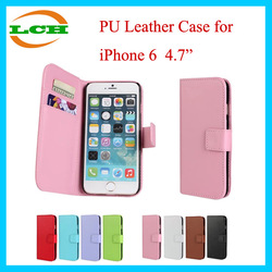 """Wallet PU Leather Cell Phone Case for iPhone 6 4.7"""""""