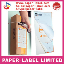 High quality logistic three layers self adhesive water proof barcode custom thermal sticker labels