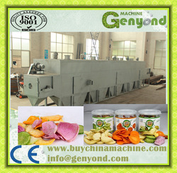 High quality fruit and vegetable multi belt dryer with advanced design