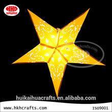 hot sale star paper lantern party decoration wholesale