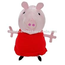 Best quality cute make stuffed pig
