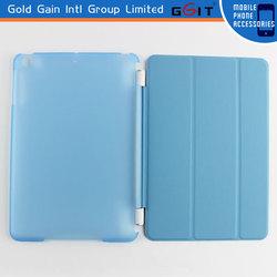 Soft PU+PC Case Flip Cover for iPad Mini, Hot Sale Protective Case of PU+PC For iPad Mini