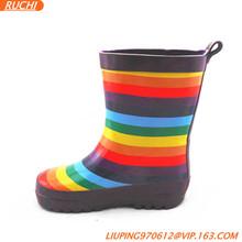 2014 Children Rubber Rain Boots Kids Wellies RKBZ027