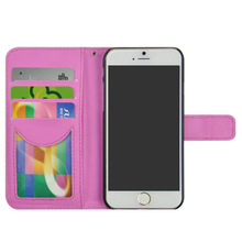 China Wholesale Dotted Pu leather flip cell phone case for iPhone 6 6 plus