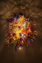 Hot Sale Luxury and Old Fashion Murano Glass Chandelier for Villa