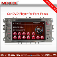 2 Din 7'' HD touch screen Car multimedia Player for Ford Focus/Mondeo/Transit Connect+GPS Navi+Stereo Radio+USB/TF+Bluetooth