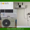 Solar de aire acondicionado inverter solar 9000-24000btu mejor aire acondicionado/híbrido solar montado en la pared acondicionador de aire
