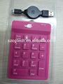 Borracha teclado/silicone teclado numérico/teclado numérico teclas de função