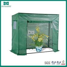 Outdoor garden green room grow tent