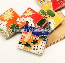 China souvenir fridge ceramic magnet