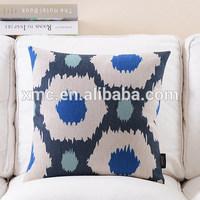 Colorful pattern sublimation printed custom home decor wholesale fashion hexagon cushion
