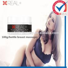 OEM Real+ breast enlargement tablet and breast massage cream bottle