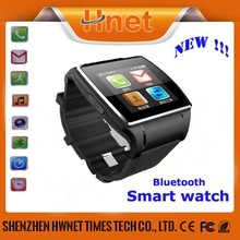 Christmas gift bluetooth wrist watch cheap touch screen watch phone with bluetooth headset watch