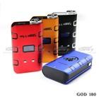 Alibab USA 510 Weed Smoking Electric Cigarette SMY God 180 Box Mod, 100W Mod IPV 3