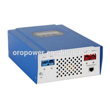 charge controlador de 48 volts com 12v 24v 48v sistema de reconhecimento automático