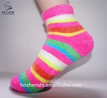 young girl custom tube socks with super soft handfeel