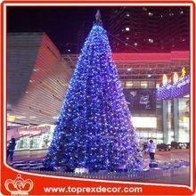 Cheap polyester star light chain popular christmas decoration