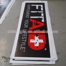 Full color glossy vinyl flex Banner