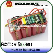 Big energy shenzhen 18650 battery 12v 15.4ah battery