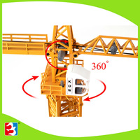 Best seling wooden toy crane truck 625017